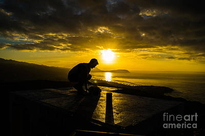 Photograph - Hiker @ Diamondhead by Angela DeFrias