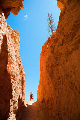 Impressionist Nudes Old Masters - Hiking in Bryce Canyon by Alexey Stiop