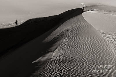 Photograph - Hiking The Dunes by Sherry Davis