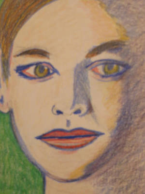Swank Drawing - Hilary Swank by Manuel Matas