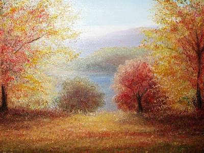 Hill Country Autumn Art Print