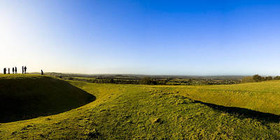Photograph - Hill Of Tara - Landscape Panorama by Mark E Tisdale