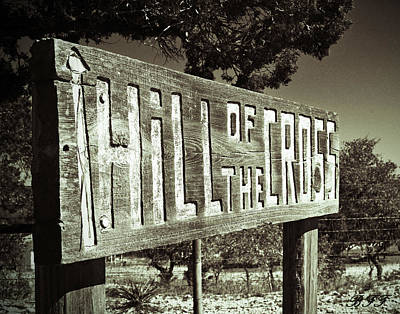 Photograph - Hill Of The Cross by Brooke Fuller