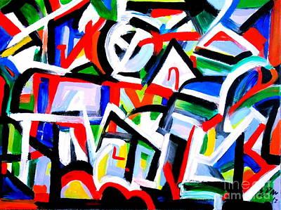 Hill Side Original by E Dan Barker