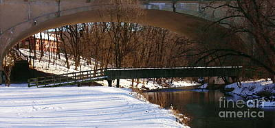 Photograph - Hill To Hill Bridge On Monocacy by Jacqueline M Lewis