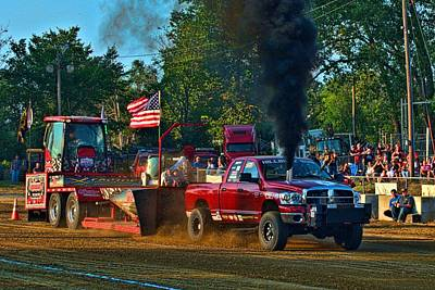 Photograph - Hillbilly Bone Pulling Truck by Tim McCullough