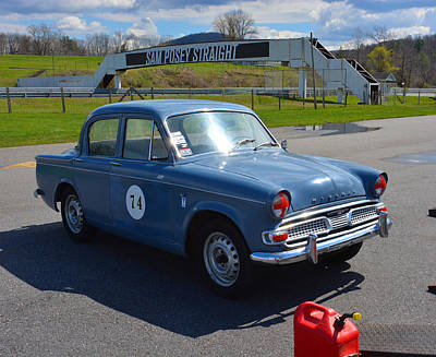 Hillman Photograph - Hillman 1600 by Mike Martin