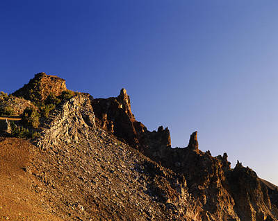Hillman Photograph - Hillman Peak Crags At Sunrise, Crater by Panoramic Images