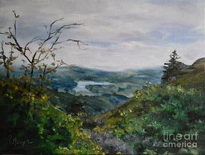 Hills And Valleys Original by Lori Pittenger