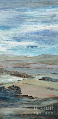 Painting - Hills In The Distance by Hazel Millington