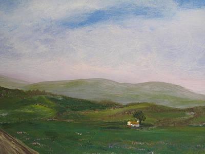 Hills Of Ireland Art Print