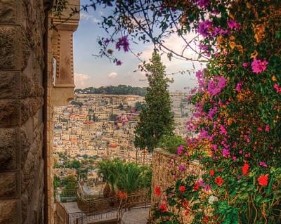 Photograph - Hills Of Jerusalem by Don Wolf