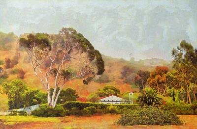 Hills Of Palos Verdes Art Print