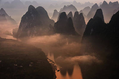 Distance Photograph - Hills Of The Gods by Gunarto Song