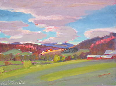 Hills Of Upstate New York Art Print