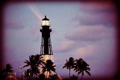 Photograph - Hillsboro Inlet Lighthouse by Bill Howard