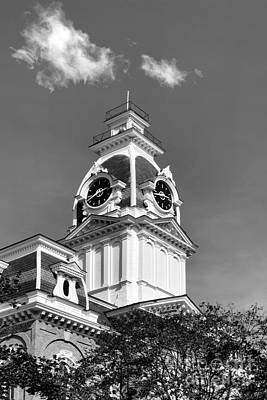 Photograph - Hillsdale College Central Hall Cupola by University Icons