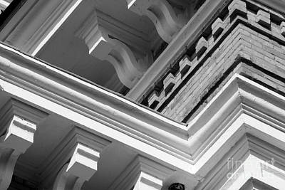Hillsdale College Central Hall Detail Print by University Icons