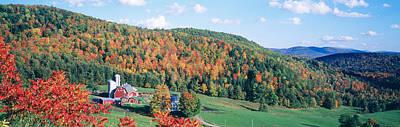 Hillside Acres Farm, Barnet, Vermont Art Print