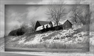 Photograph - Hillside Farm by Kay Novy