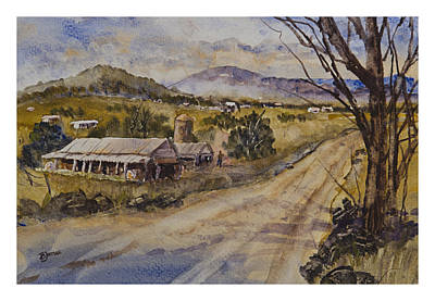 Painting - Hillside Farms by Barry Jones