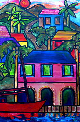 Painting - Hillside In St. John by Patti Schermerhorn