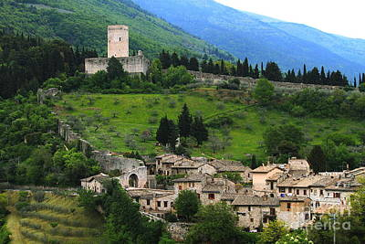 Photograph - Hillsides Of Assisi Italy by Theresa Ramos-DuVon