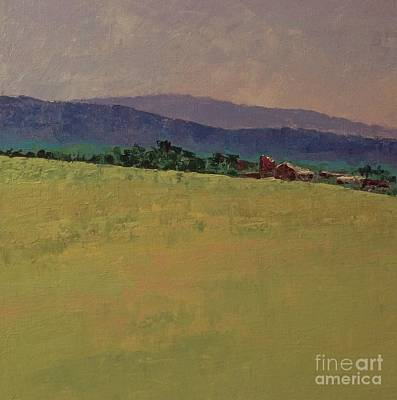 Painting - Hilltop Farm by Gail Kent