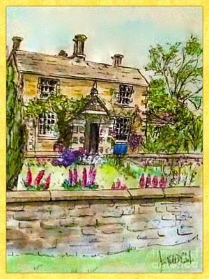Hilltop Farm Art Print