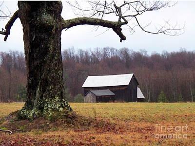 Photograph - Hilltop Homestead by Christian Mattison