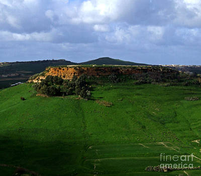 Photograph - hilltop in Gozo by Mary Attard