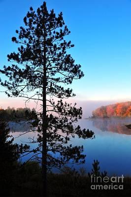 Photograph - Hilltop View Of Stoneledge Lake by Terri Gostola