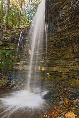 Photograph - Hilton Falls Ontario Canada by Marek Poplawski