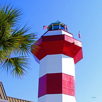 Photograph - Hilton Head Lighthouse Upclose by Duane McCullough