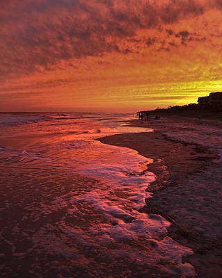 Photograph - Hilton Head Sunset Sc by Sally Ross