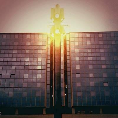 Iphone 4s Photograph - Hilton Prague #prague #hilton #czech by Jan Kratochvil