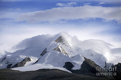 Photograph - Himalayan Peak - Tibet by Craig Lovell
