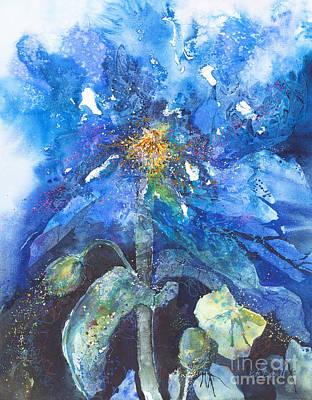 Himalayan Poppy Art Print by Kate Bedell