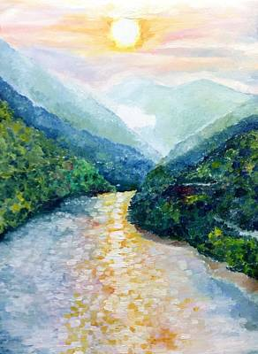 Painting - Himalayan Rainbow by Aditi Bhatt
