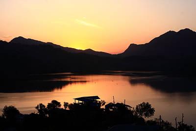 Photograph - Himalayan Sunrise by Aidan Moran
