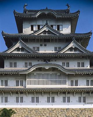 Himeji Castle Or White Heron Castle Art Print by Everett