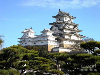 Himeji Castle Art Print by Pg Reproductions