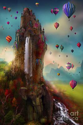 Hot Air Balloon Photograph - Hinchangtor by Aimee Stewart
