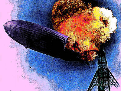 Photograph - Hindenburg 20130605 by Wingsdomain Art and Photography