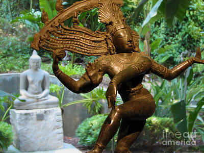 Photograph - Hindu And Buddhist Statues by Gregory Dyer