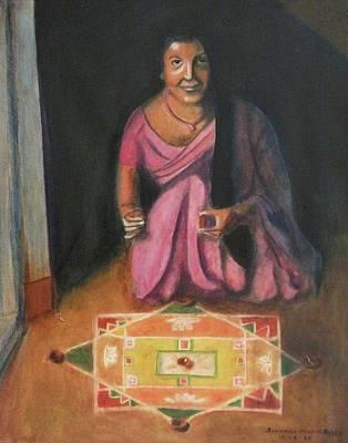 Hindu Celebration Art Print