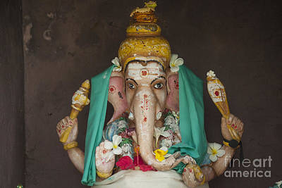 Hindu God Ganesh Art Print by Patricia Hofmeester