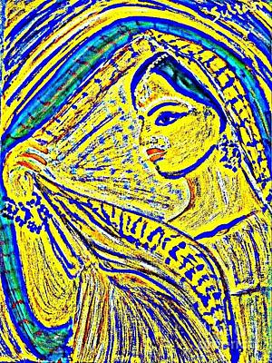 Parvati Painting - Hindu Goddess Wedding by SeviNa Sultanova