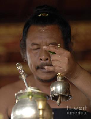Photograph - Hindu Holy Man by Bob Christopher