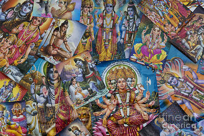 Hindu Goddess Photograph - Hindu Posters by Tim Gainey